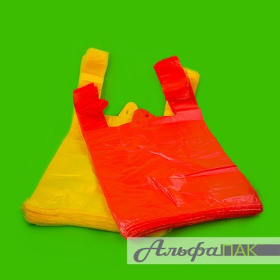 Пакет-майка 24*44 цветная 10мкм