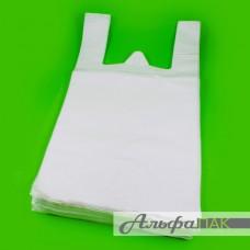 Пакет-майка 28*50 белая 12мкм