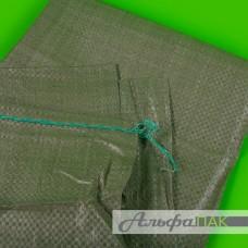 Мешки для строительного мусора полипропиленовые 55*95 зеленый