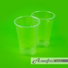Стакан 200гр прозрачный полипропилен
