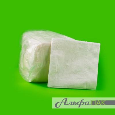 Салфетки белые 100 листов
