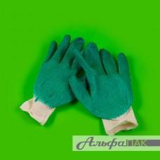 Перчатки х/б одинарный ОБЛИВ, 10класс, 5-нитка